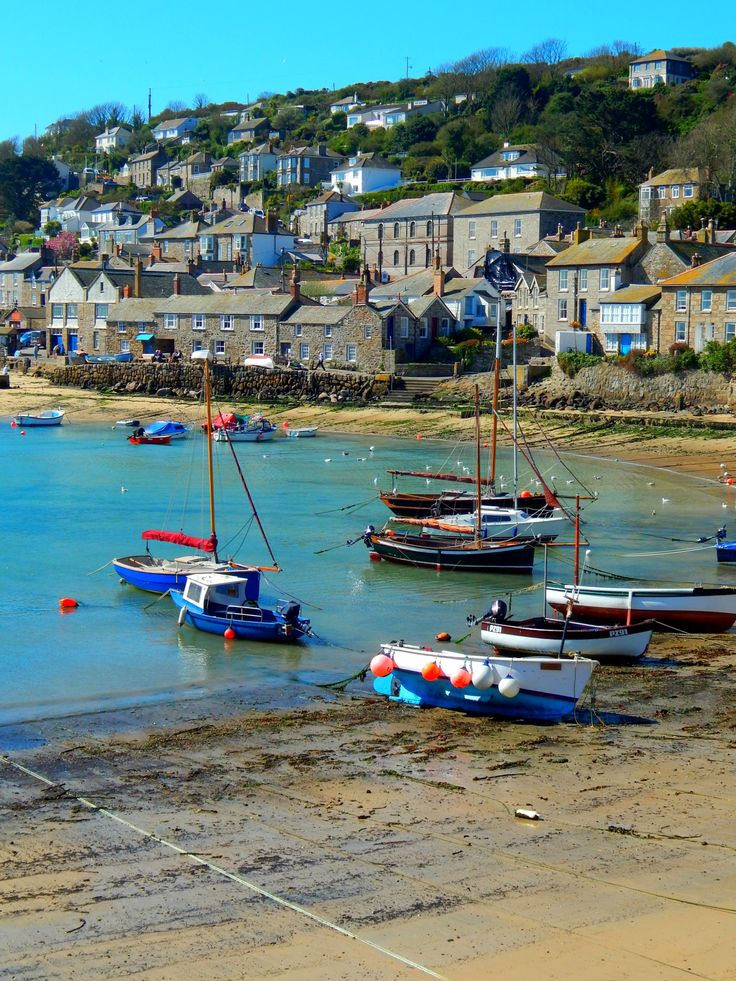 Mousehole, Cornwall, England, UK — FUCKITANDMOVETOBRITAIN