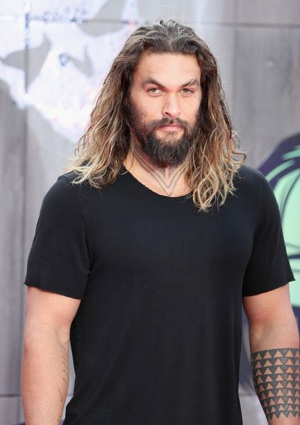 "Jason Momoa Photos - Jason Momoa attends the European Premiere of ""Suicide…"