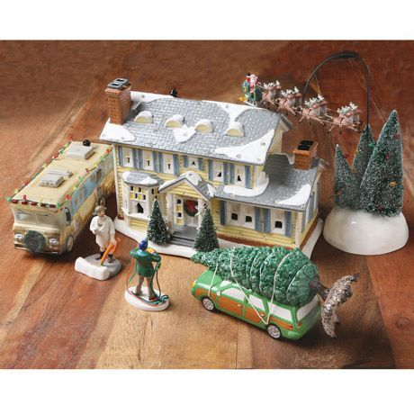 NATIONAL LAMPOON CHRISTMAS VACATION COLLECTIBLE FIGURES - GRISWOLD HOUSE, Wireless Catalog