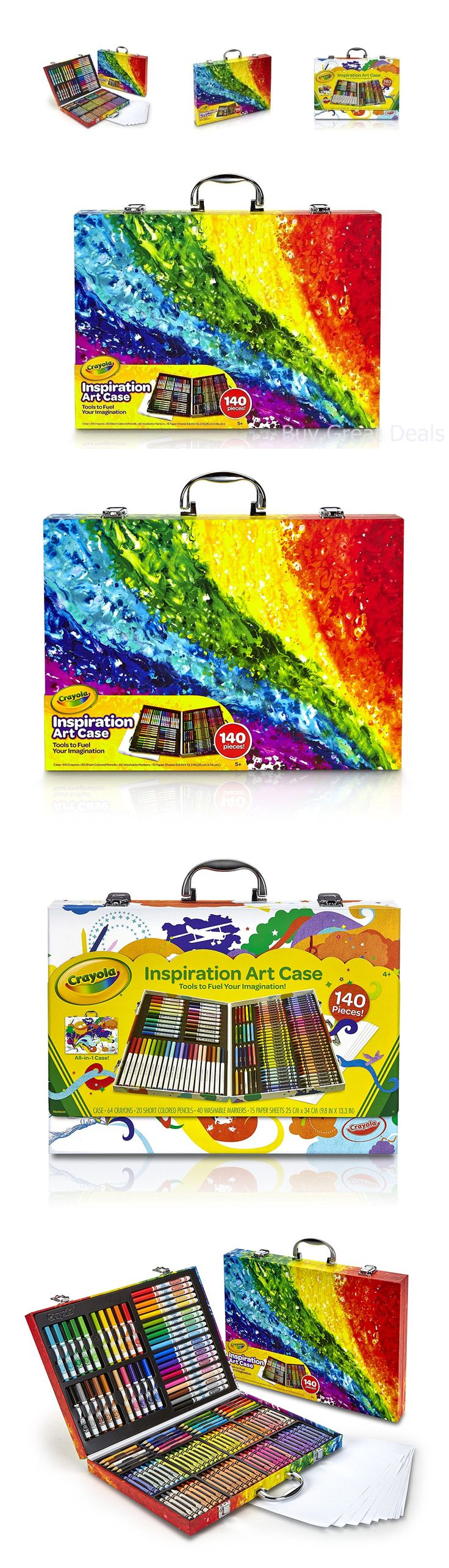 Crayon melting art images amp pictures becuo - Crayons 116653 Crayola Art Case Tools 140 Pieces Crayons Colored Pencils Washable Markers New