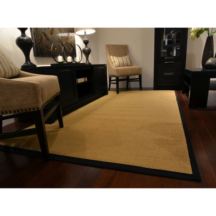 Shop Rug Studio  SISAL Better Than Sisal Area Rug, Black at ATG Stores. Browse our area rugs, all with free shipping and best price guaranteed.