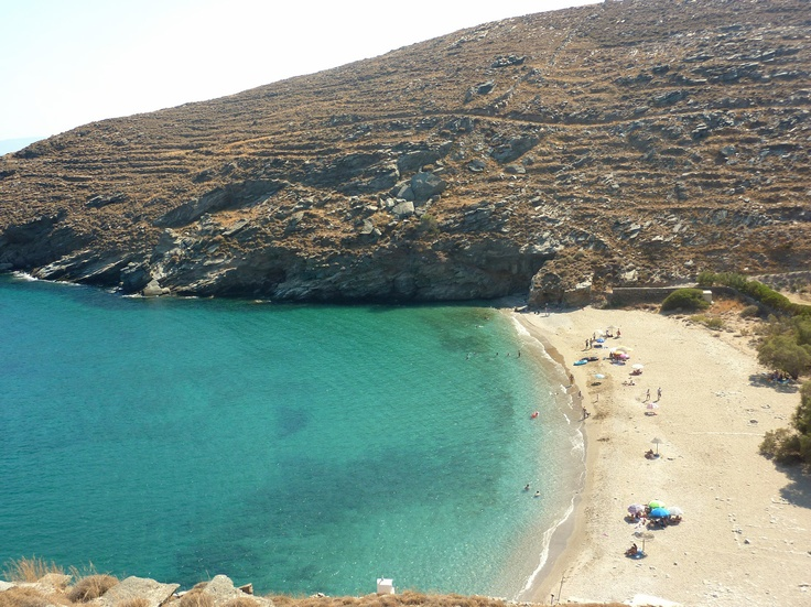 Sykamia beach, Kea, Cyclades