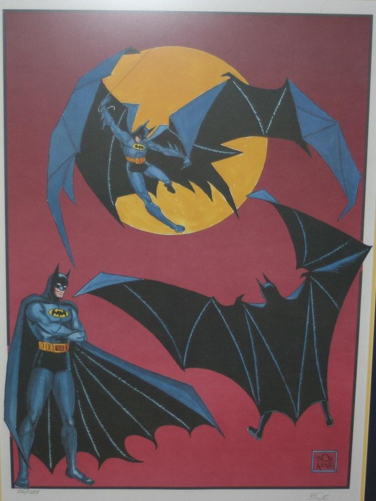 Batman Bob Kane == but channeling Todd Mcfarlane