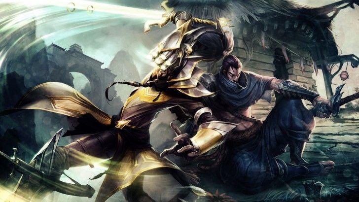 League of Legends Yasuo Master Yi HD Iamsointense 1920×1080