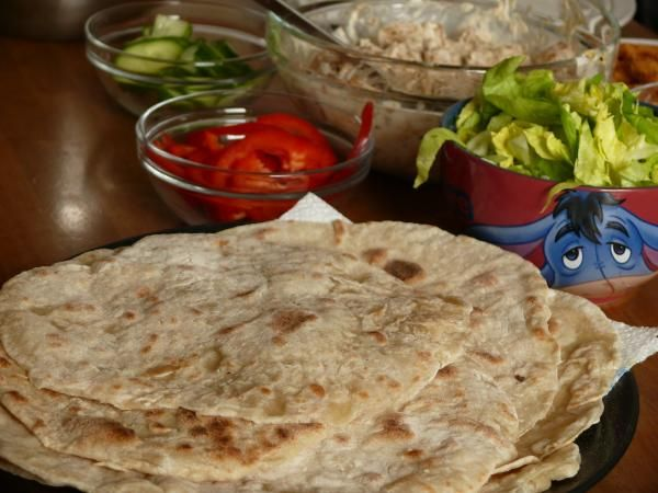 Tortilla elastyczna (do zawijania farszu) (dieta wegańska)