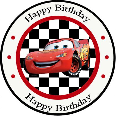 Cars Party Birthday Printouts Cars Lightning Mcqueen
