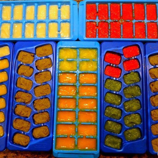 Eine Stunde im Monat hausgemachte Babynahrung – mit über 40 Rezepten aus der …   – Babys
