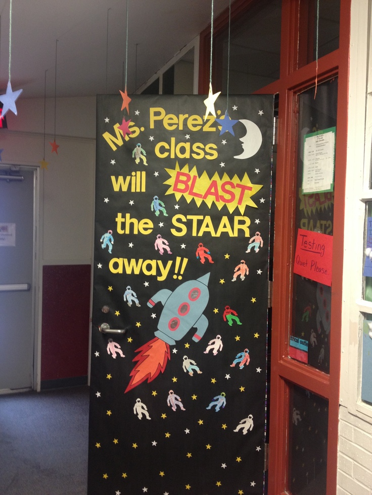 Door cover! Ready for staar | My classroom | Pinterest ...