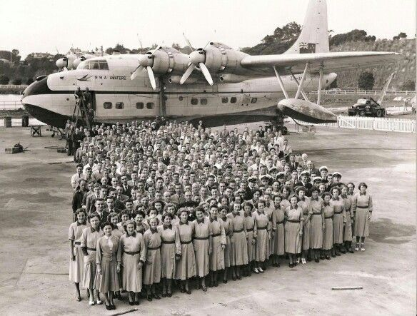 TEAL Staff Photo, image Friends of the Solent Flying Boat