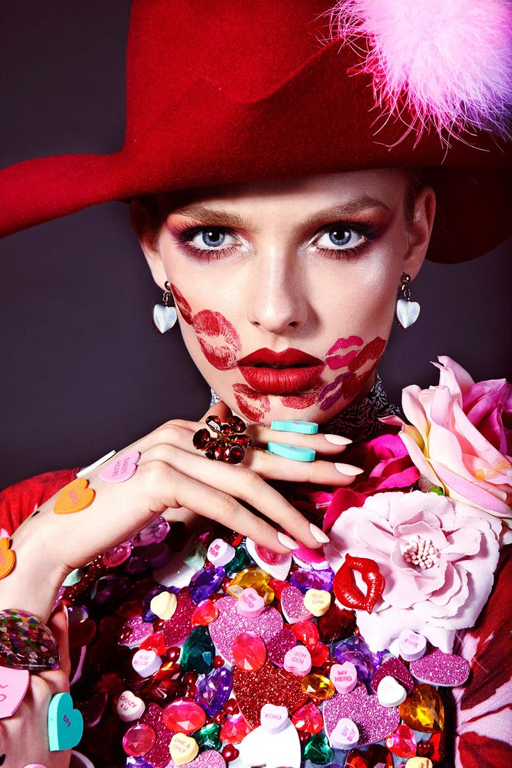 Vogue Ukraine Love Valentine Beauty Editorial with model Paulina Klimek | NEW YORK FASHION BEAUTY PHOTOGRAPHER- EDITORIAL COMMERCIAL ADVERTISING PHOTOGRAPHY