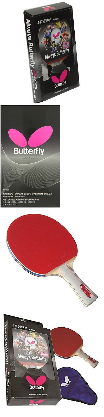 Paddles 36277: Butterfly 401 Shakehand Table Tennis Racket New -> BUY IT NOW ONLY: $34.14 on eBay!