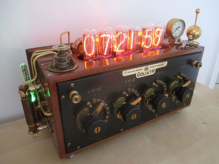Bad Dog Designs Nixie Clocks