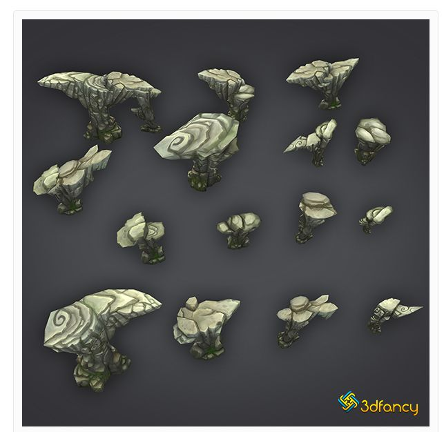 30 Realistic Beautiful 3D Models