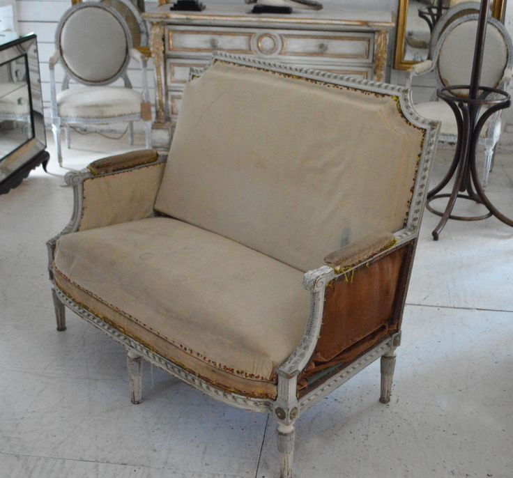 19th Century French Salon Sofa
