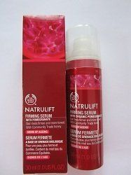The Body Shop Natrulift Firming Serum, 1 Fluid Ounce by The Body Shop. $34.99. We use Community Fair Trade ingredients so you can feel confident with the quality of our products and this allows our suppliers to build better futures for themselves and their communities.. We have never tested our products on animals and we insist that all our suppliers have not tested their ingredients on animals for cosmetic purposes. Pomegranate extract which is a powerful antioxidant that he...