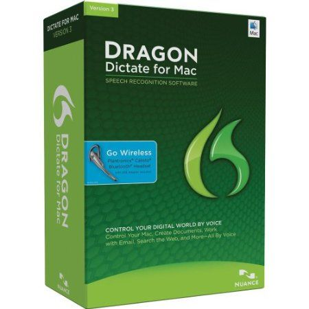 With Dragon Dictate for Mac 3 speech recognition software, you can use your voice to create and edit text or interact with your favorite Mac applications. Far more than just speech-to-text, Dragon Dictate lets you create and edit documents, manage email, surf the Web, update social networks, and more – quickly, easily and accurately, all by voice.  Price: $269.99