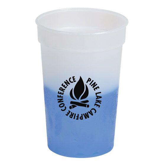 21f53cfdd6d Customized Plastic Cups & 17 Oz. Chameleon Cup   Crestline.com   ffpLAW  Marketing   Plastic cups, Hot coffee, Coffee cups