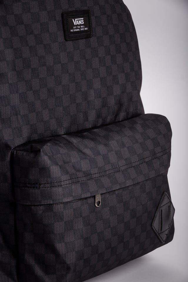 polilla Desprecio Derribar  Vans Old Skool II Backpack - Black/Charcoal | Vans backpack, Backpacks,  Black backpack
