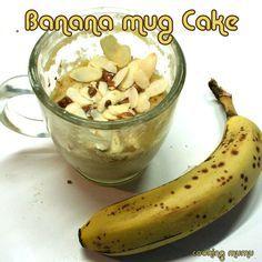 Mug cake micro onde banane