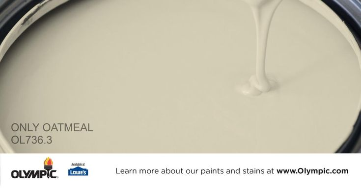 ONLY OATMEAL OL736.3 is a part of the greens collection by Olympic® Paint.