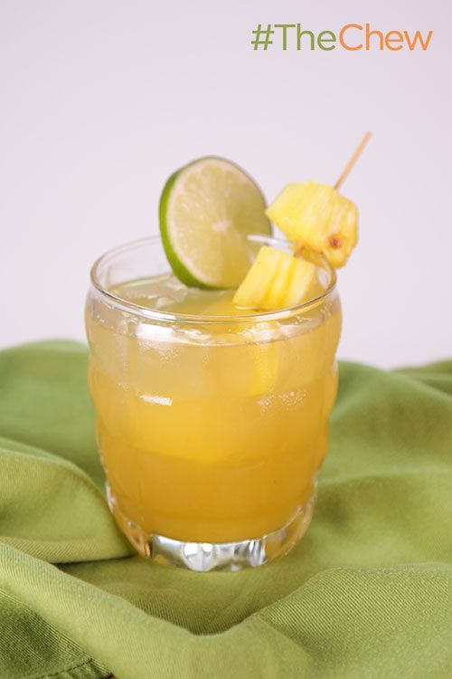 Grilled Pineapple Daiquiri Recipe — Dishmaps