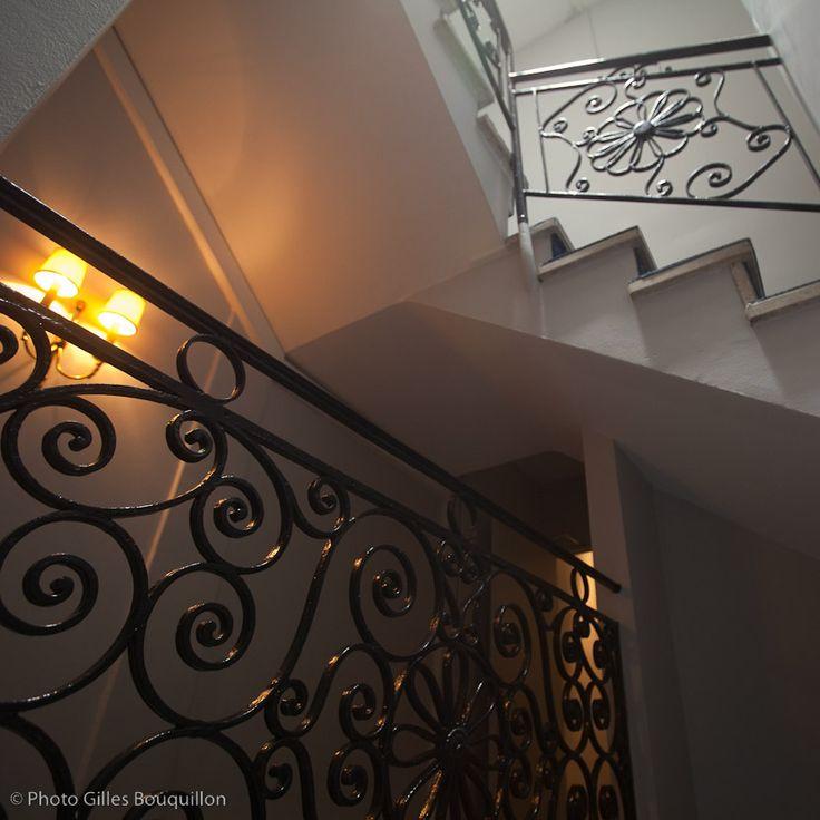 Pour monter aux chambres de l'hôtel ROYAL WILSON-Toulouse centre ©Gilles Bouquillon