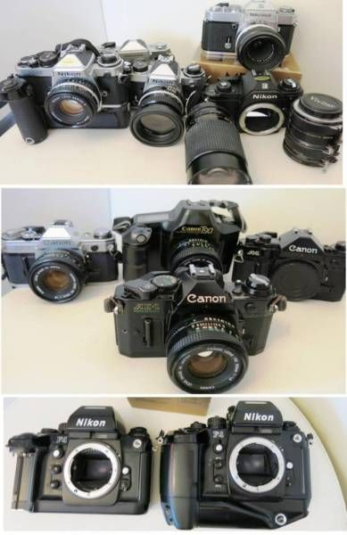 Canon & Nikon Film Cameras Lenses for 4⁄3 micro,Sony A & Nex | Non Digital Cameras | Gumtree Australia Stonnington Area - South Yarra | 1090048227