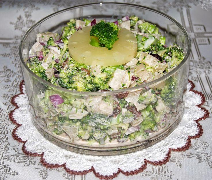 O kuchni z uczuciem : Sałatka  brokułowa.
