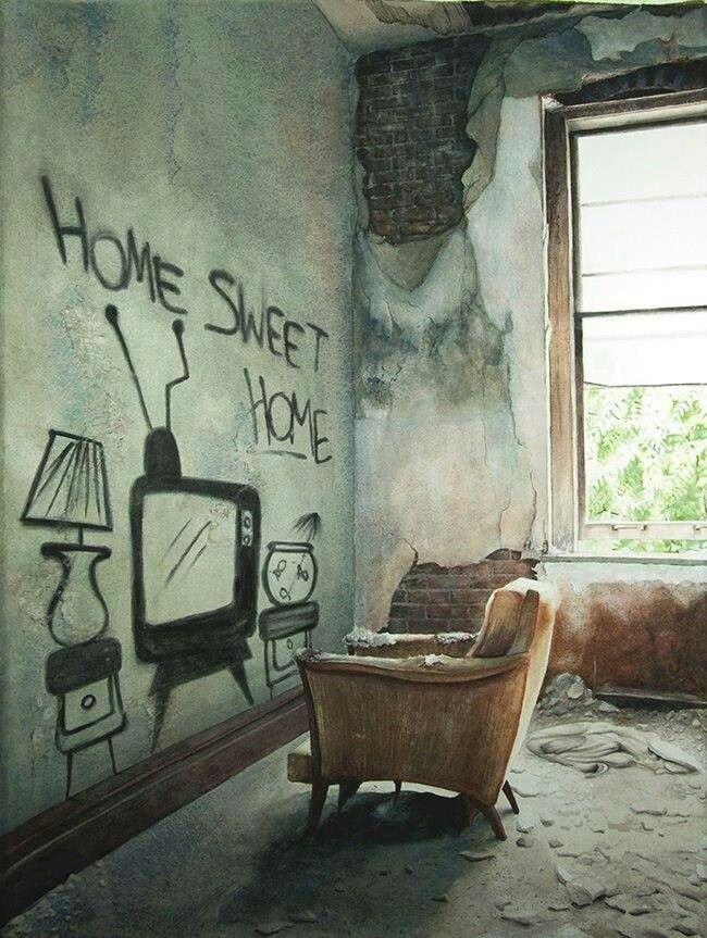 Home sweet home #street art