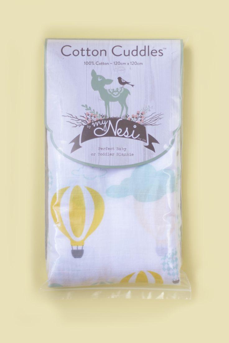 Cotton Cuddles – Hot Air Balloons