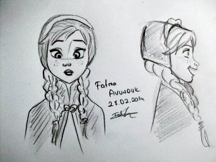 My frozen drawing