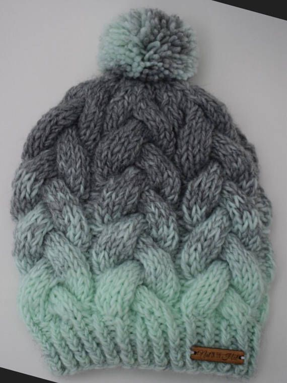 Worsted Wool Knit Braided Cable Hat - The Sutton Hat (pattern by Prem Knits) Nat in the Hat Knits on Etsy https://www.etsy.com/ca/shop/NatInTheHatKnits?ref=ss_profile Follow @iamnatinthehat on Instagram