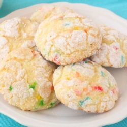 Funfetti Cool Whip Cookies recipe