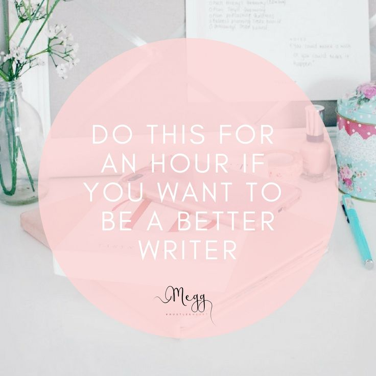 Have you always wanted to write better, write more, write faster? Follow this simple tip and you will be able to achieve all of the above.