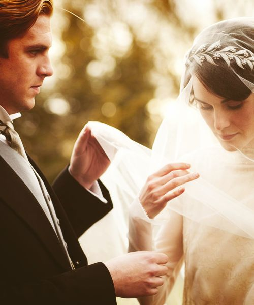 """I would never be happy with anyone else so long as you walked the earth""- Downton Abbey's Matthew Crawley and Lady Mary ♥"