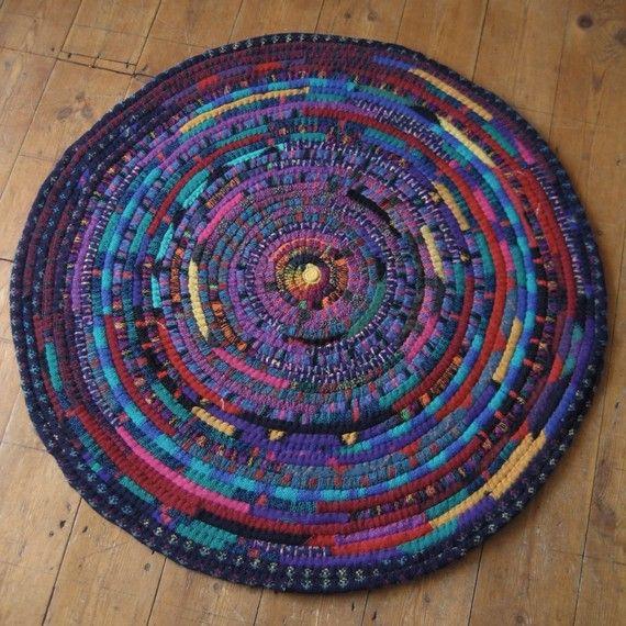 Tee Shirt Rug Pattern Brainstorm Rag Rugs Love 3 Pinterest And Weaving