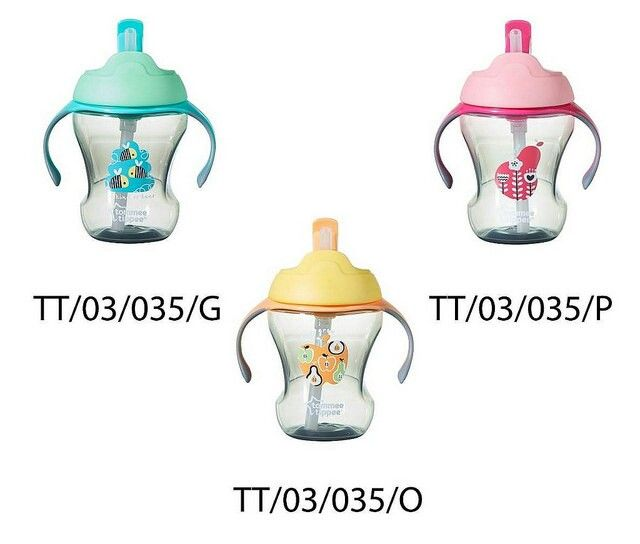 Tommee tippee trainer straw cup 9m+ 1seri 3wrn @ 95.000