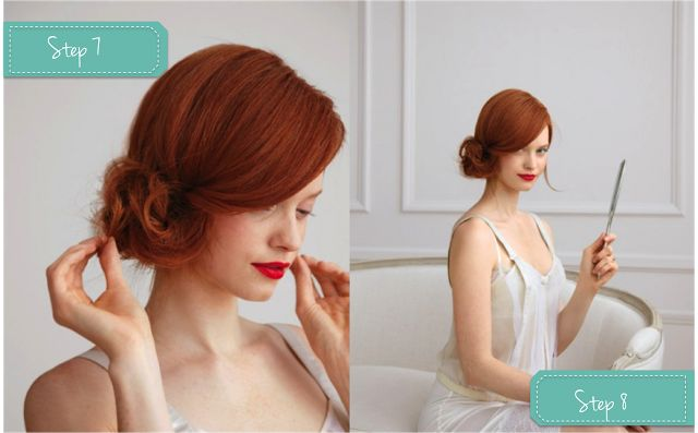 ACCONCIATURE SPOSA FAI-DA-TE: COME REALIZZARE UNO CHIGNON LATERALE SEMPLICE ED ELEGANTE By www.SomethingTiffanyBlue.com #diy #tutorial #wedding #hair