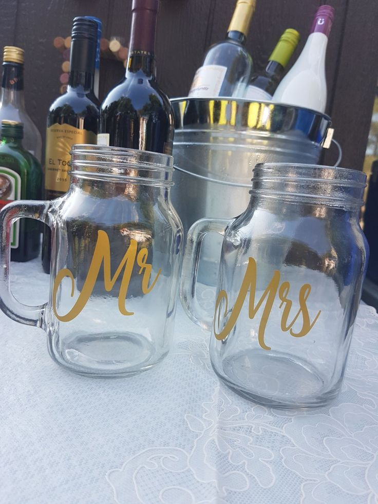 Mr. & Mrs. Jar mug