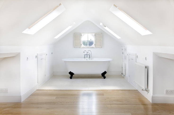 loft conversion - love the round window