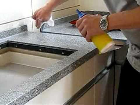Montage Küchenabdeckung