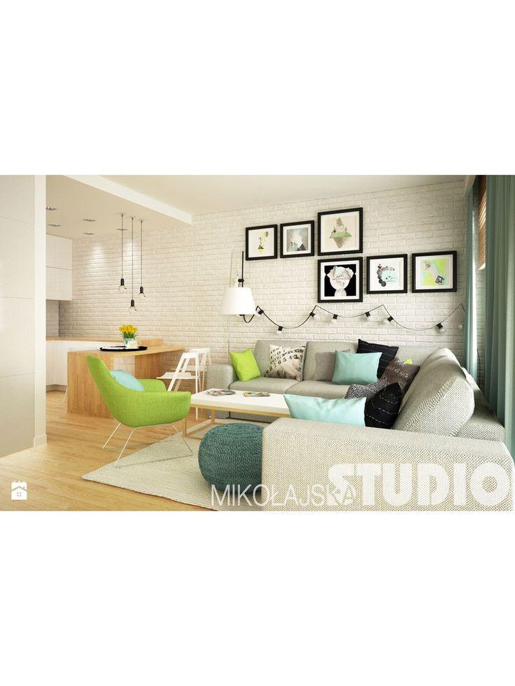 jasna podłoga   Modne mieszkanie - zdjęcie od MIKOŁAJSKAstudio