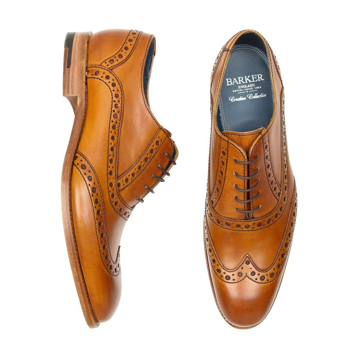 "BARKER ""Grant"" Brogue Dress Shoes - Shoes - Menswear 