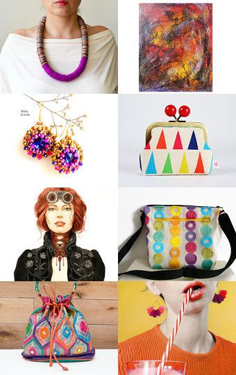 Colorful gift ideas by corinne gegot on Etsy--Pinned with TreasuryPin.com