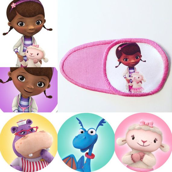 Eye patch for children with characters from the от MalinkaArt