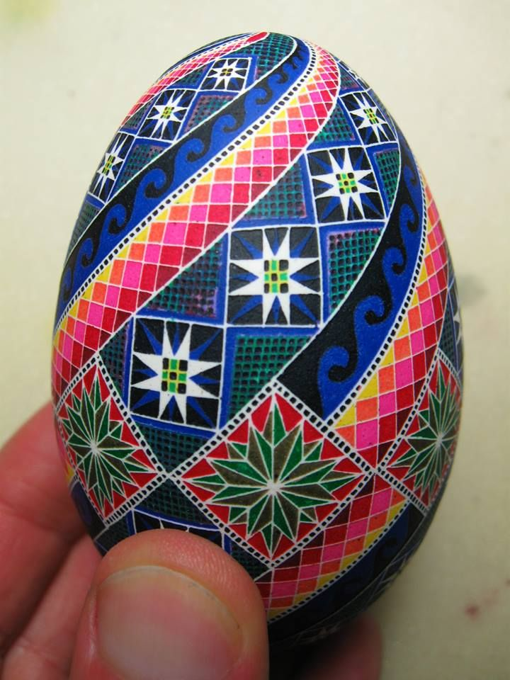 Pysanka art ,Arsen Romanyuk ,  Ukraine, from Iryna