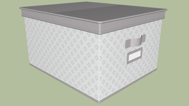 SVIRA clothes box 39x48x28 cm - 3D Warehouse