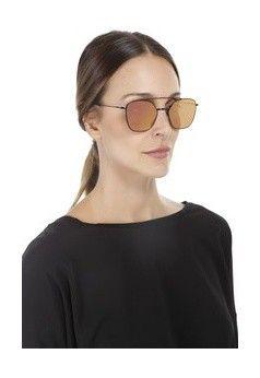Óculos aviador espelhado dolce vita