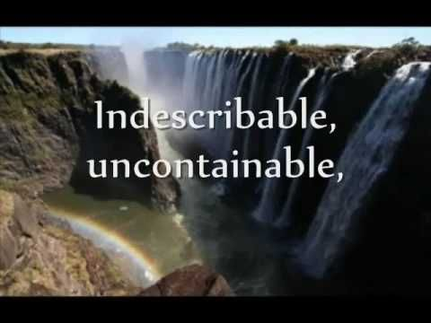 Indescribable (with lyrics)