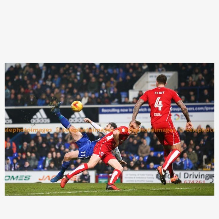"Arron Gent on Instagram: ""Brett Pitman scored an acrobatic late winner for #itfc as they beat #bcfc 2-1 last night #ipswich #bristolcity #ipswichtown #football #photography #goal #tekkers #bicyclekick #sportsphotography #sportsphotographer #brettpitman #photographer #footballleague #championship #efl #englishfootball"""